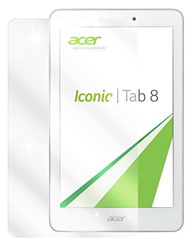 dipos I 3X Schutzfolie klar kompatibel mit Acer Iconia Tab 8 Folie Bildschirmschutzfolie