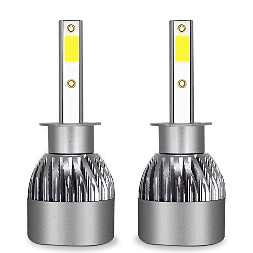 Ampoule De Phare LED Tout-En-Un Kit De Conversion-H1, H4, H7, H11, 9005, 9012-3200LM 6000K Cool White 360 Degré D'éclairage Pour Remplacement De Lampe De Voiture,H1