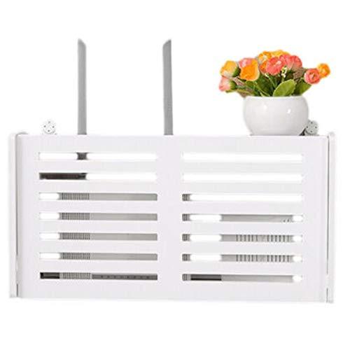 WiFi Router Regal/Tv Set-top-Boxen Magie Lagerung Regal Dekorations-Kasten-zwischenschicht Wandbehang Router Unterstützung Kreativer Wand-Speicher Decorative Box