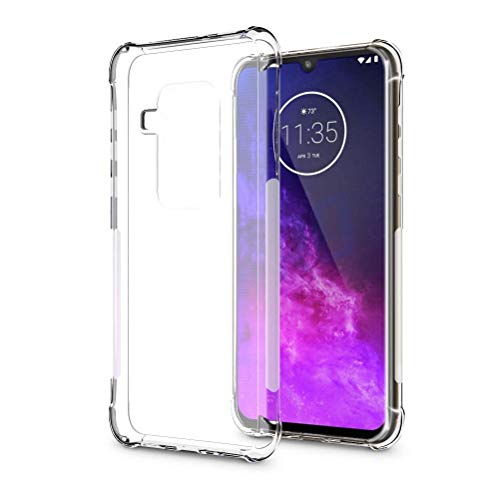 Capa Protetora Para Motorola Moto One Zoom 6.4 Polegadas Capinha Case Transparente Air Anti Impacto Proteção De Silicone Flexível - Danet