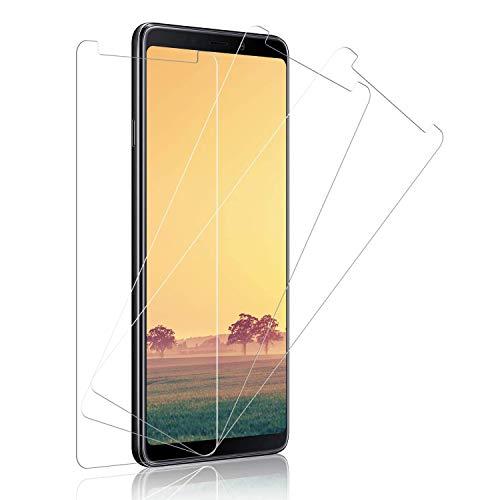 Panzerglas Schutzfolie pour Samsung Galaxy A9 2018, 3 Stück, Samsung A9 2018 Panzerglasfolie, 9H Festigkeit, [Anti-Kratzer/Bläschen/Fingerabdruck/Staub] Panzerglas Bildschirmschutzfolie für Galaxy A9 2018