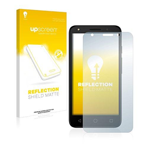 upscreen Entspiegelungs-Schutzfolie kompatibel mit Alcatel Pixi 4 (5.0) 3G – Anti-Reflex Bildschirmschutz-Folie Matt