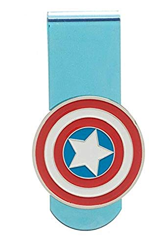 Marvel Captain America Shield Logo Money Clip
