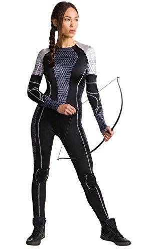 Rubie\'s Offizielles Katniss-Erwachsenen-Kostüm, The Hunger Games, Tribute von Panem - XS