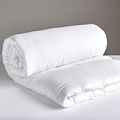 Non-Allergenic Soft Cotton Rich Breathable Bounce-back Hollowfibre Filled Duvet Quilt Comforter, All Sizes & Togs Available by Value Comfort Home