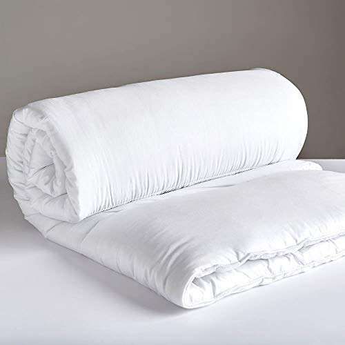 Non-Allergenic Soft Cotton Rich Breathable Bounce-back Hollowfibre Filled Duvet Quilt Comforter, All Sizes & Togs Available King 10.5