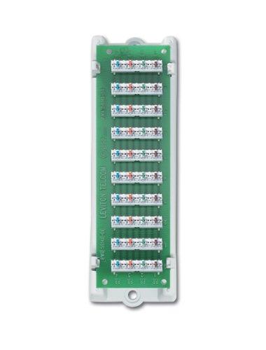 Leviton 47689-B 1x9 Bridged Telephone Module (with bracket)