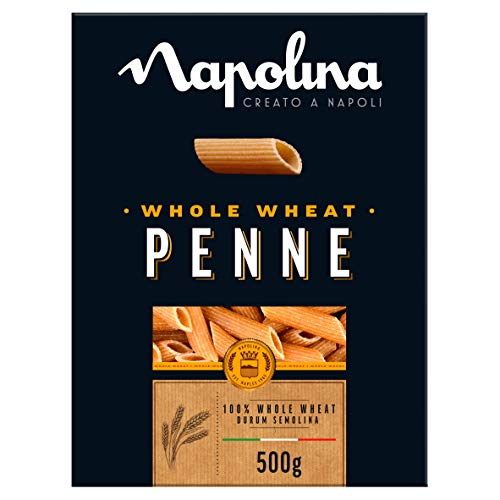 Napolina Wholewheat Penne, 500 g, Pack of 6