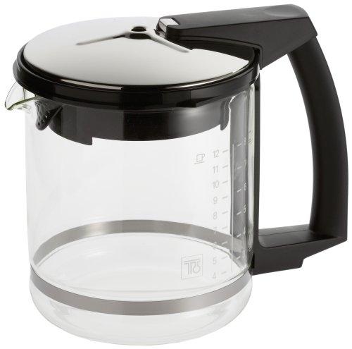 Krups F 046 42 Glaskrug zu T 8 (Art. 468) Espresso-/Kaffeemaschinenzubehör schwarz