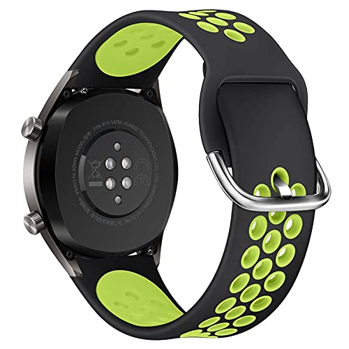 LLMXFC Per GT2 Cinturino in Silicone Cinturino per Huawei Watch GT 2 GT 46mm / GT 2E / Honor Band Magic Band Sport Bracciale da Polso 22mm Correa (Color : 4, Size : 22mm)