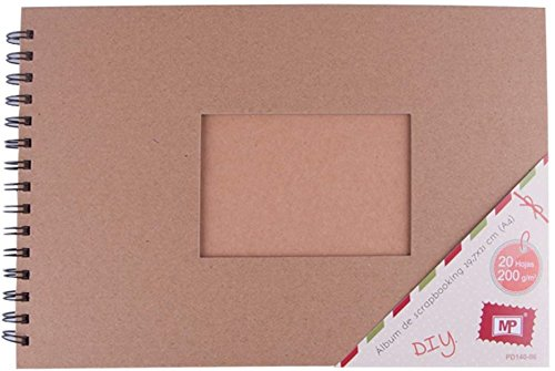 MP Scrapbooking Kraft - Album, 210 x 297 mm