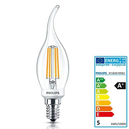 Philips LED Classic LEDcandle D 5-40W BA35 E14 827 cl