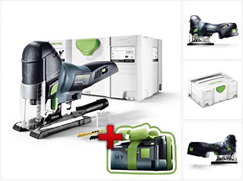 Jetzt mit GRATIS AKKU: Festool PSC 420 EB Li-Basic Akku Pendelstichsäge CARVEX im Systainer (574713)