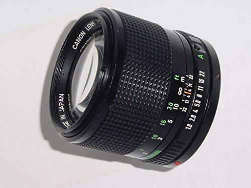 Canon f/1.8 Manual Focus FD Lens - Great For Portraits