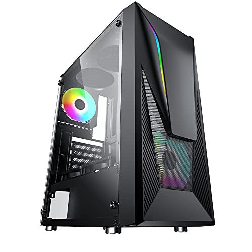 PC Gaming Intel Core i5-3470, Nvidia GeForce GT 730 4GB GDDR3, SSD 480GB, Ram 8GB DDR3, Alimentatore 450W 80 Plus Bronze, Windows 10 Pro