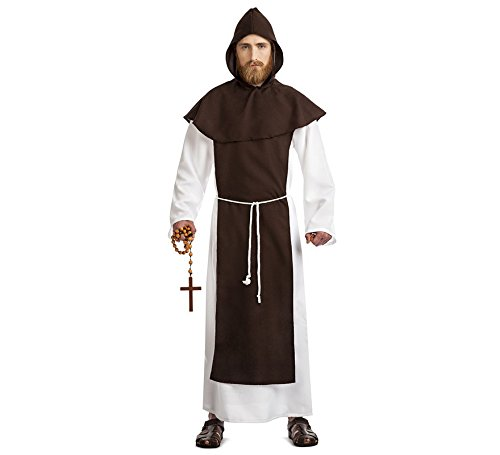 Car&Gus Disfraz de Monje Franciscano para Hombre: Amazon.es ...