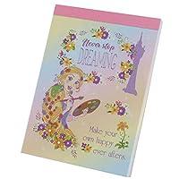 塔の上のラプンツェル[メモ帳]ミニ ミニメモ/10周年記念 B ディズニープリンセス
