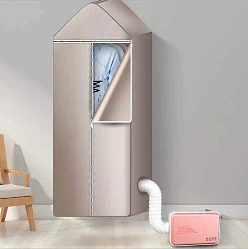 Secador de ropa eléctrico , secador de ropa eléctrico portátil multi funcional para el del dormitorio del hogar pequeño de alta temperatura de la ropa interior de secado rápido estante de secado Pink
