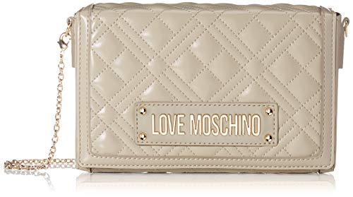Love Moschino Jc4054pp1a, Borsa a Tracolla Donna, Avorio (Avorio), 5x13x20 cm (W x H x L)