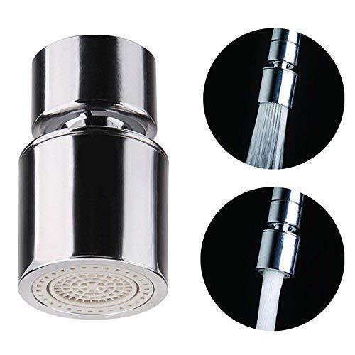 OFKPO Wasserhahn Luftsprudler mit Strahlregler,Wasserhahn Schwenkbrause für Küche Bad Wasserhahn Aufsatz