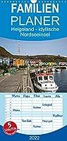 Helgoland - idyllische Nordseeinsel - Familienplaner hoch (Wandkalender 2022 , 21 cm x 45 cm, hoch): Helgoland, die idyllische Nordseeinsel, wer einmal dort war, kann sich ihres Zaubers nicht entziehen. (Monatskalender, 14 Seiten )