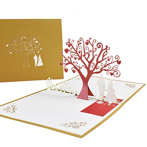 Valentine's Day Card, NALCY Anniversary Card, Greeting Card Romance Card Birthday Card for Her for Halloween Mother's Father's Day New Home New Year Thanksgiving Valentine