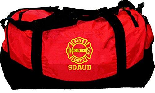 Medium-Feuerwehrtasche Chicago Fire Dept.-Squad, 52x30x30 cm, 55 L