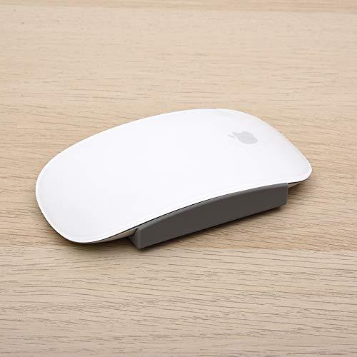 Fironst Magic Grips per Apple Magic Mouse 1 e 2, Grip in Silicone per una Presa più Ampia, Migliora il Comfort, Offre un Controllo Migliore ( 2 Paia, Grigio )