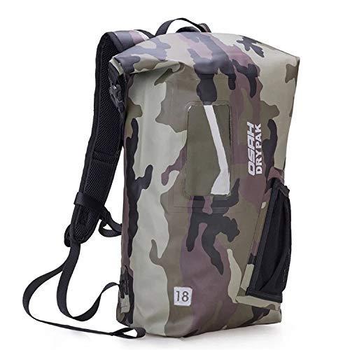 OSAH DRYPAK Dry Bag 18Liter Wasserfester Rucksack mit Rolltop für Wassersport Kajak Boot Angeln