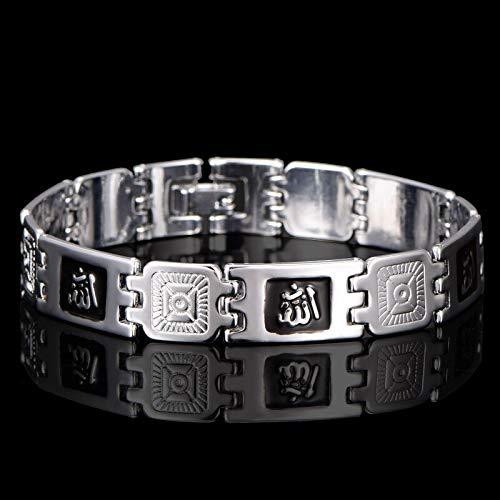 Silber Farbe Muslim Allah Armbänder Für Männer Frauen Hochwertige Islam Religion Geschenk Schmuck Nahost