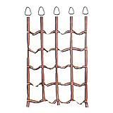 Red de carga de escalada colorida de 2 piezas, ejercicio físico al aire libre Accesorios de escalada de bricolaje Entrenamiento de brazo de cuerda Ninja, equipo de juegos, gimnasio de la jungla