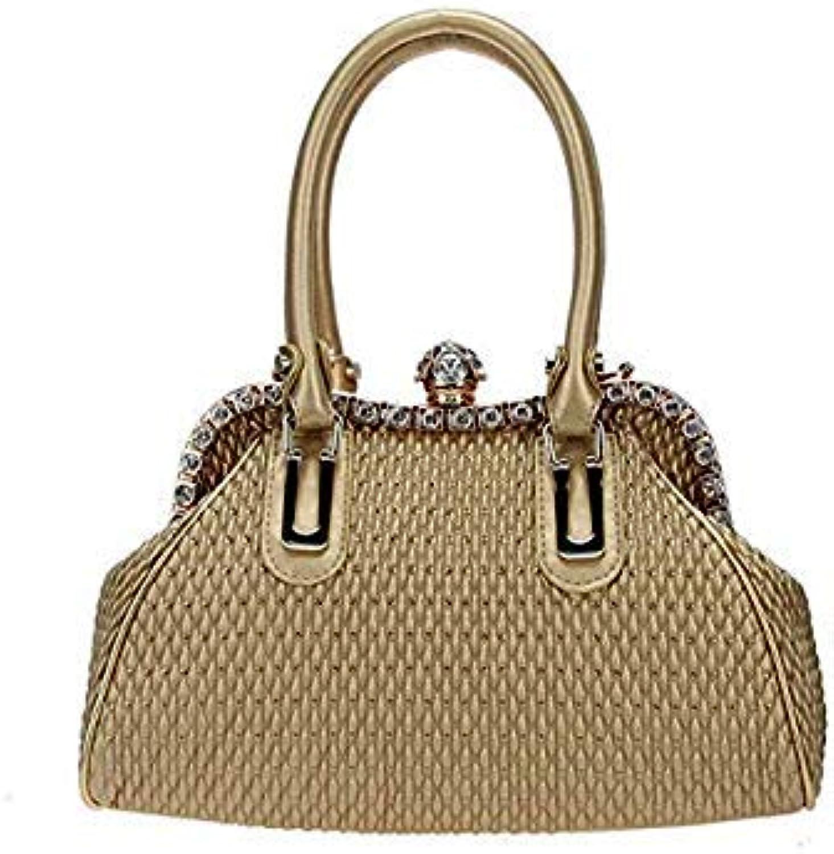 Bloomerang Fawziya Spherical Women Handbags Tote Shoulder Bags color gold 38