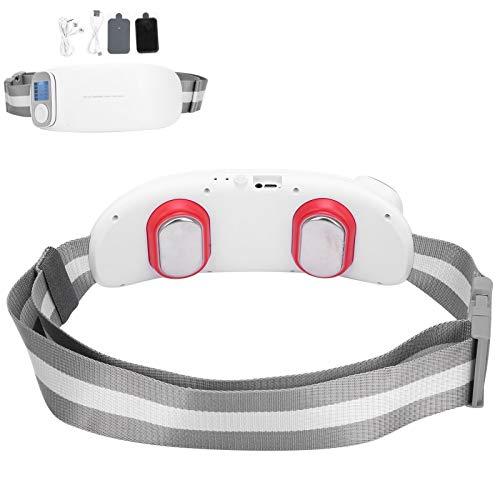 Emoshayoga Cinturón De Masaje con Calefacción, Almohadillas De Calentamiento Suaves Y Rápidas Cinturón para Envolver El Vientre con Calor Cinturón De Compresión En Caliente Cinturón De Masaje para