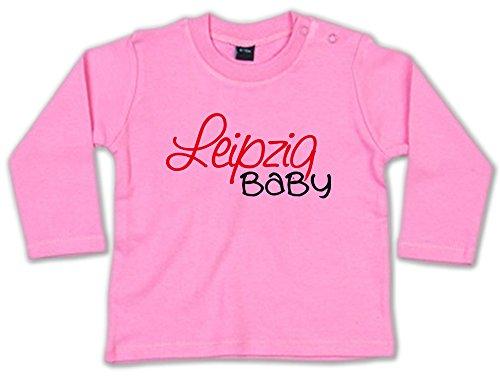 G-graphics Leipzig Baby Baby Sweatshirt 268.0374 (3-6 Monate, pink)