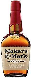"""MAKER""""S MARK BOURBON WHISKY KENTUCKY STRAIGHT HANDMADE 1 LITRO"""