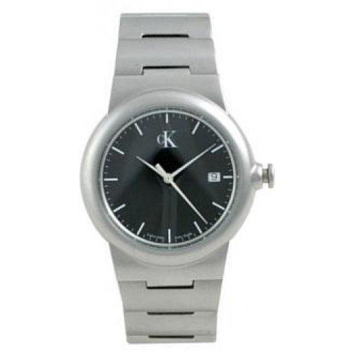 Calvin Klein k1811111-Reloj de Pulsera de Hombre, Correa de Acero Inoxidable Color Acero