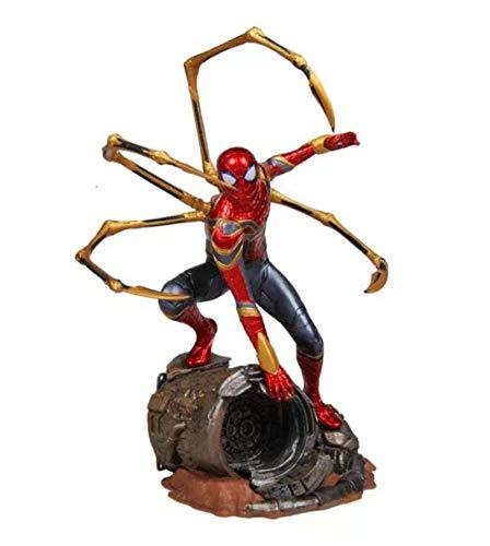 LEIYU Avengers Alliance Infinity War Iron Spider-Man Modello