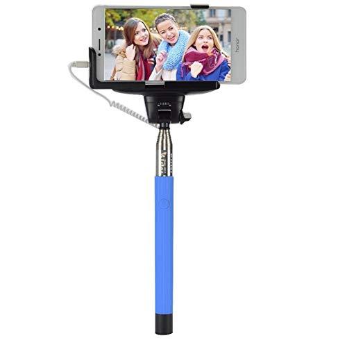 LSDRHTJ Cable de Audio Wired Selfie Stick Monopod Extensible Self Stick para...