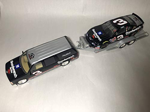 Brookfield Collectors Guild 1999 Limited Edition Dale Earnhardt GM Goodwrench Service Plus Suburban Trackside Collection 1:24 scale Diecast Set