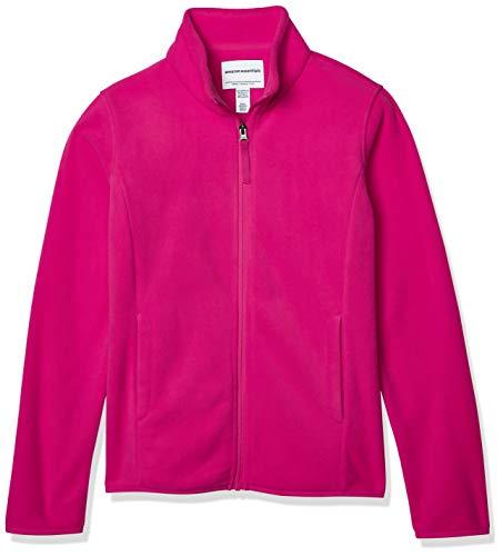 Amazon Essentials Girl's Full-Zip Polar Fleece Jacket