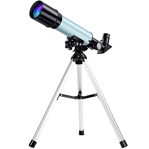 Kids Astronomical Telescope, 50mm Astronomy Refractor Telescope with 2 Eyepiece Tripod & Phone Holder & Carry Bag - Best Gifts of Educational Toys