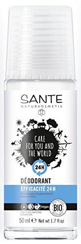 Sante Naturkosmetik Desodorante 24H. Salvia Roll-On 50Ml. Bio 50 ml