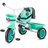 Schwinn S6771 Easy Steer Trike, Teal, 2 Modes Of Child Or Parent Control