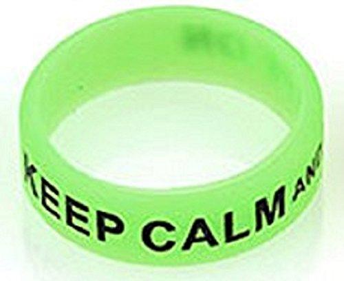 Waipawama Vape Bands bunt Silikonringe, viele Farbe Dampfschutzringe istick pico (Farbe, Grün)
