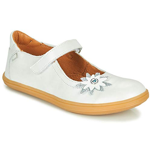 GBB Fanetta Ballerine Ragazza Bianco/Nacre - 33 - Ballerine Shoes