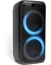 FREESOUND-400 - Ibiza - STAND-ALONE ACTIEFBOX 400W MET BLUETOOTH, USB, MICRO-SD & AFSTANDSBEDIENING