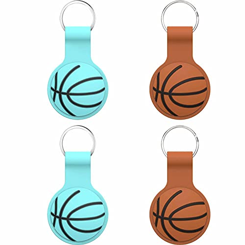 RWF Compatible with Airtag Protective Shell, Key Finder, Phone Finder, Pet Locator Shell, with Hooks That Can Be Hung On School Bags(4 pcs) (Mix)