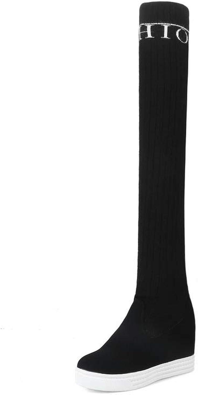 AN Womens Heighten Inside Assorted colors Wool Boots DKU02508