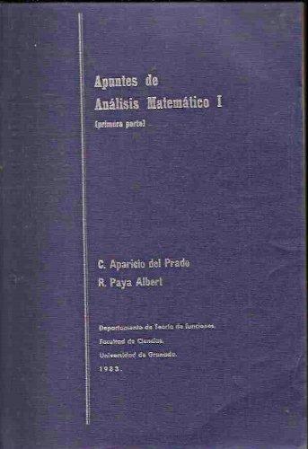 APUNTES DE ANALISIS MATEMATICO I (PRIMERA PARTE)