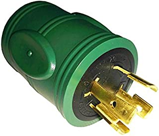 Parkworld 884975 Generator Adapter 4-Prong Locking 20A L14-20 Plug to 30A Locking L14-30 Receptacle